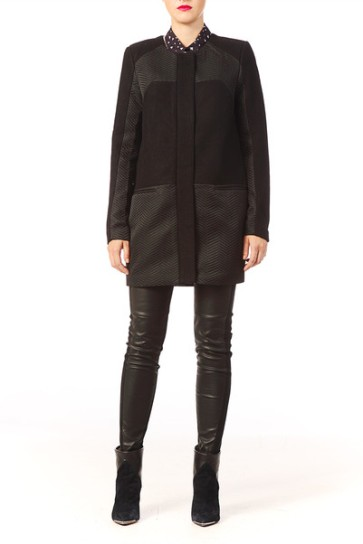 YAS - Manteau en laine sur Monshowroom 149,95€