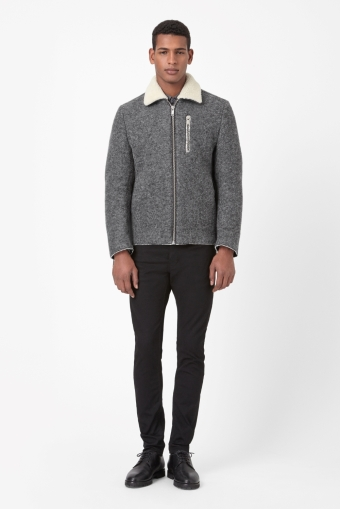 Melange flight jacket COS 290€