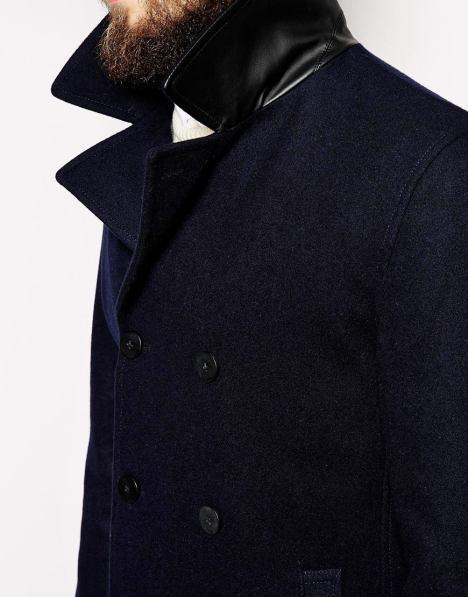 Caban en laine New Look 79€