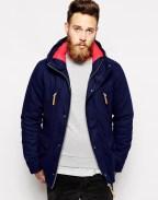 Veste en laine à capuche Asos 114€