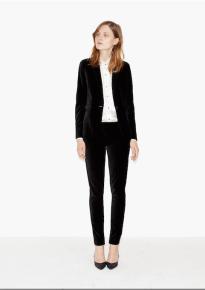 Veste et pantalon en velours, The Kooples, 395€ et 195€
