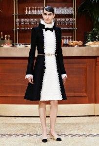 Robe en soie et coton, Chanel, prix sur demande