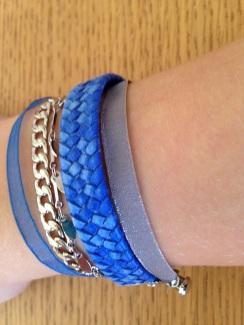 Résultat : un bracelet home made pour accessoiriser toutes vos tenues !