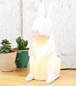 lampe-origami-lapin