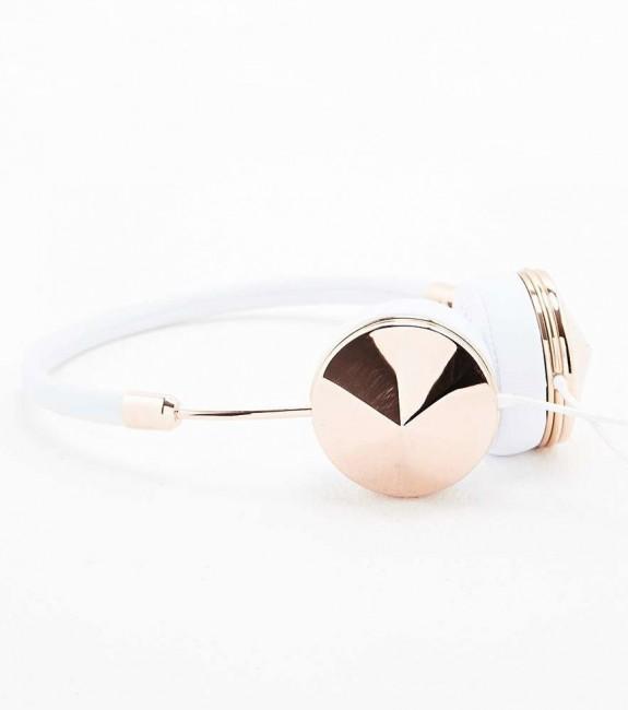 casque-audio-layla-en-cuir-blanc-rosegold