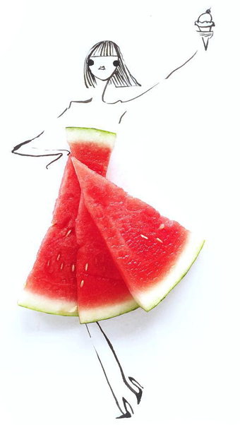 gretchen-roehrs-food-fashion-art-watermelon