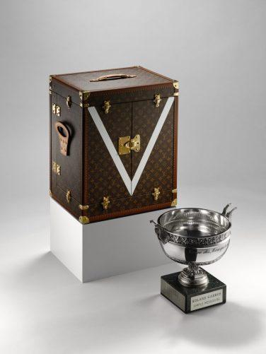 Malle Louis Vuitton & Coupe de Roland Garros