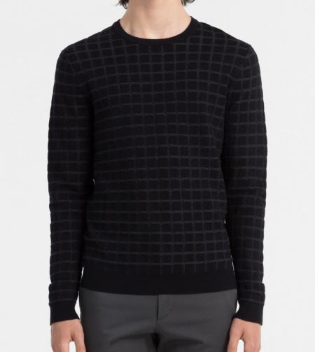 Pull à carreaux Calvin Klein - 179 €