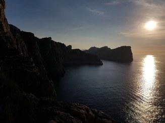 Couché de soleil au Cap de Formentor