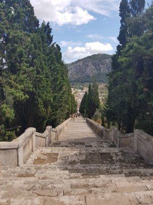 Les escaliers du Calvaire - Pollença