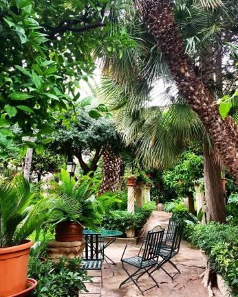 Jardins des anciens bains arabes - Palma